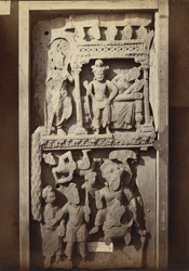 Sculpture fragments from Chinglai, Sanghao, Peshawar District
